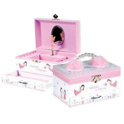 Fairy Blossom Jewellery Trinket Box Deluxe for Girls Gift by Floss and Rock