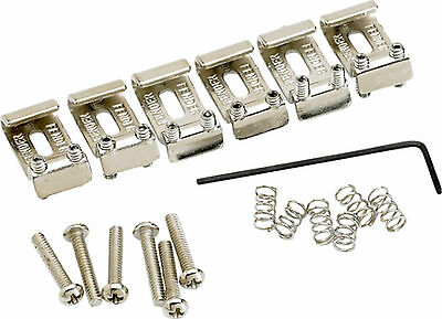 Fender American Vintage Stratocaster® Bridge Saddles (6) (Nickel) 0992051000