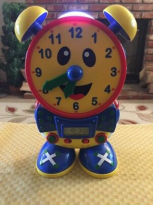 The Learning Journey International - Telly the Teaching Time Clock - WORKS