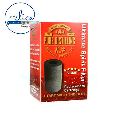 Pure Distilling 5 Star Carbon Filter Replacement Cartridge