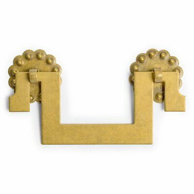 CBH 2 ALL SQUARE Chinese Brass Hardware Furniture Pulls 4""