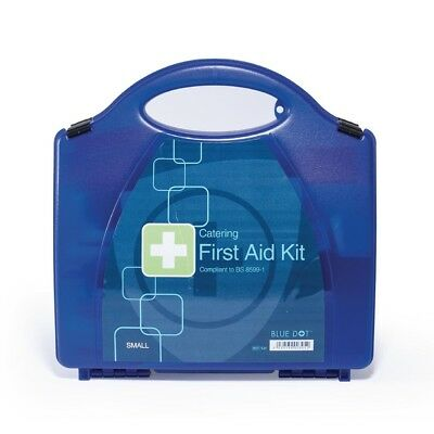 Blue Dot First Aid Kit Small Catering Workplace Emergency Health Safety
