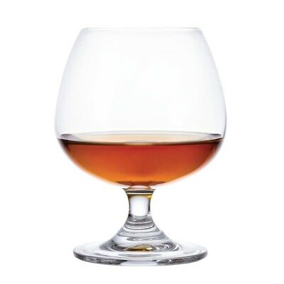 Pack of 6 Olympia Bar Collection Brandy Glasses 400ml Crystal