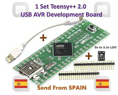 Teensy++ 2.0 USB AVR develope board support audrino IDE