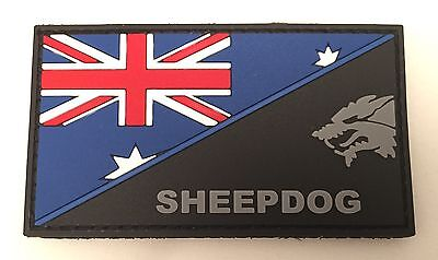 Thin Blue Line, Sheepdog, Police Rubber Patch, Hook, Law Enforcement, TBL