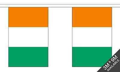 Ivory Coast Polyester Material Flag Flags Bunting Various Sizes