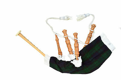 Kids Toy Bagpipe/Junior Playable Bagpipes/Child Bagpipe Black watch