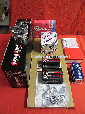 Mercruiser Marine 4.3L/262 Engine Kit Pistons+Rings+Gaskets+bearings+WP 1PC