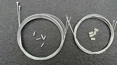 Road Racing Bike Gear & Brake inner Wire Cable set fit shimano 105 tiagra