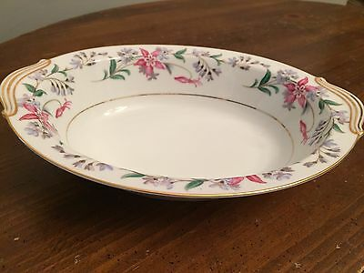 "Noritake China ""CONSTANCE""  #5213  ~ Oval Serving Bowl ~ 10 1/2"" x 8"""