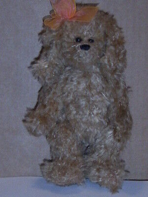 "RETIRED TY ATTIC TREASURE 8 INCH DOG ""CASANDRA"" MINT with tags"