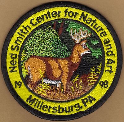 "Pa Pennsylvania Fish Game Commission Related 1998 Ned Smith 4"" Buck Deer Patch"