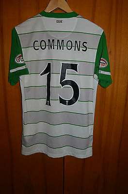 Celtic Scotland 2010/2011 Third Football Shirt Jersey Maglia Nike #15 Commons