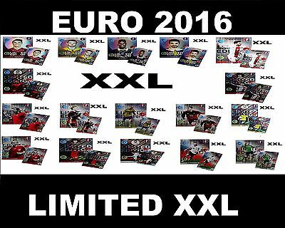 UEFA EURO 2016 Panini Adrenalyn XL Cards Limited Edition XXL