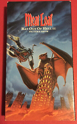 Meatloaf Bat Out Of Hell II : Picture Show VHS 1994