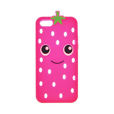 Claire's Girls and Womens Strawberry Cut-Out Iphone Case