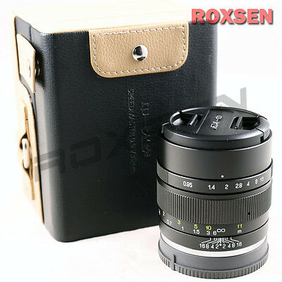 Mitakon Speedmaster 35mm F/0.95 II Lens for Sony E Mount NEX camera A6000 A5100