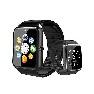 GT08 Bluetooth Smart Wrist Watch Phone Mate for Apple IOS Android iPhone Samsung