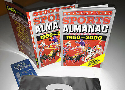 Grays SPORTS ALMANAC from BACK TO THE FUTURE - including bill & bag