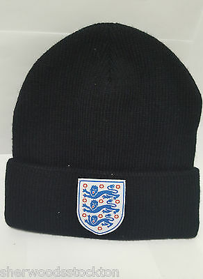 England Beanie Hat With Embroided Vauxhall Logo