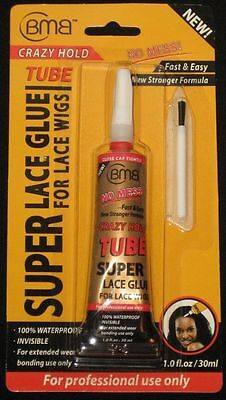 BMB Super Lace Glue for Lace Front Wigs Crazy Hold Tube  30 ml