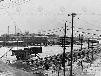 Vintage Photo Manville New Jersey Factory New Fine Art Print Poster Cc5307