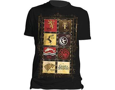 Official Licensed - Game Of Thrones - House Collect Sigil T Shirt