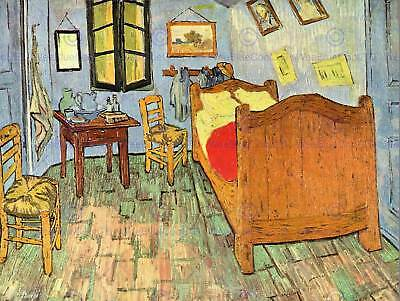 VINCENT VAN GOGH STARRY NIGHT 1888 OLD ART PAINTING POSTER 2989OMLV