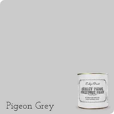 Evelyn Grant Chalky Finish Furniture Paint 1L (Pigeon Grey) Chalk Paint