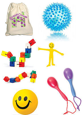 Sensory Toys Kit - FREE Bag - Kids Special Needs Autism Fidget Educational Toy