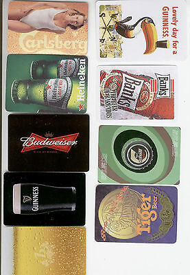 20 Single Playing Cards of Beer Ad. #3