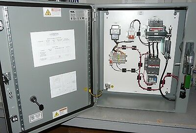 New Size 3 50HP@480V Pump Control Panel 3Ø UL508A Nema 4/12 3R
