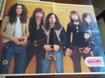 "VINTAGE 1973 URIAH HEEP POSTER FROM CIRCUS MAGAZINE 21X16.5"" calendar"