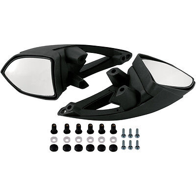 Windshield Mirrors for Arctic Cat Replaces #4639-733