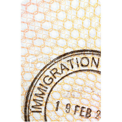 NEW Personalised Luggage Tag - Immigration from Gogo Gear Travel Accesssories