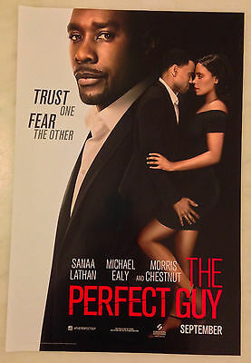 THE PERFECT GUY (2015) Mini Movie Poster; 11.5x17; Morris Chestnut