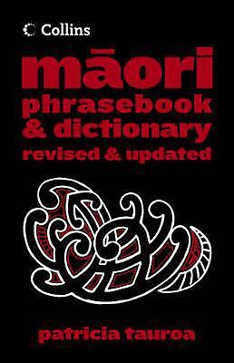 Collins Maori Phrasebook and Dictionary by Patricia Tauroa Paperback Book Free S