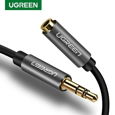Ugreen 3.5mm Male to Female Stereo Audio Extension Cable for Laptop Phone MP3 CD
