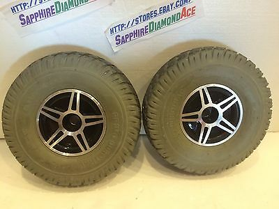 Pride Jet 3 Ultra Flat Free Drive Wheel for Power Chairs See pictures!