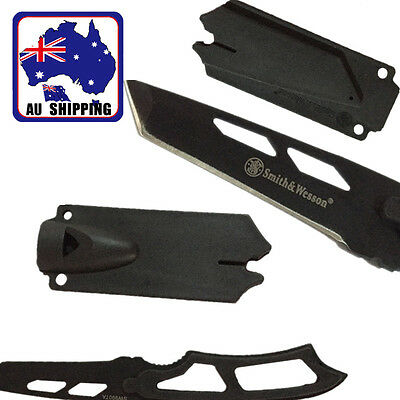 Whistle Knifes Multi-function Camping Outdoor Sheath Survival Tool OKNIF4514