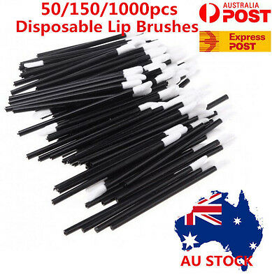 150/500/1000pcs Disposable Lip Brush Lip Wands Gloss Lipstick Applicator Brushes