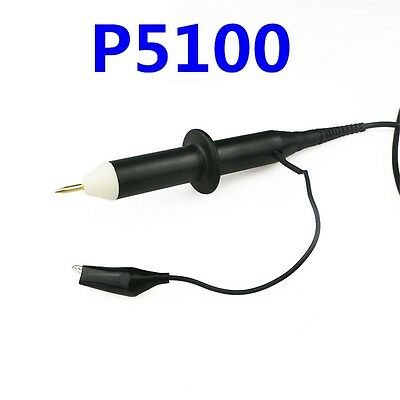 P5100 100X BNC 100MHz High Voltage 4KV Oscilloscope Passive Clip Probe