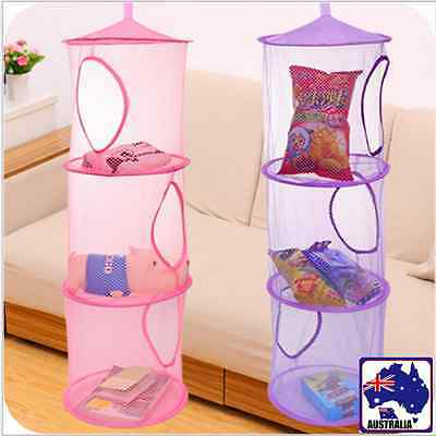 Exo Multilayer Dry Rack Hanging Basket Cylindrical Bags Clothes Baskets HBAS0353