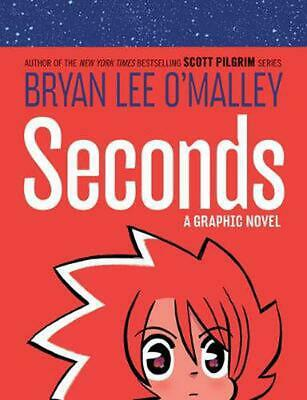 Seconds: A Graphic Novel by Bryan Lee O'Malley Hardcover Book Free Shipping!