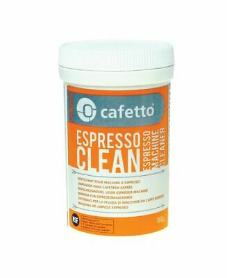 NEW CAFETTO ESPRESSO CLEAN 100g Machine Cleaner for Professional Use Powder