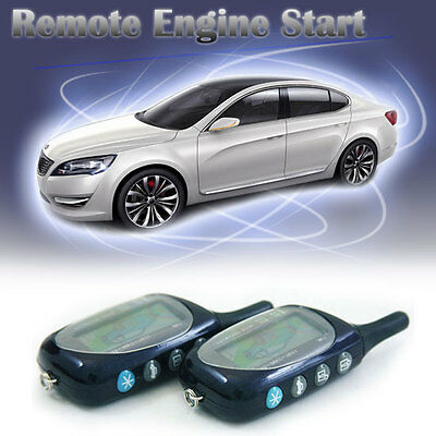 Code Hopping Keyless Entry Security Car Alarm and Remote Engine Start System