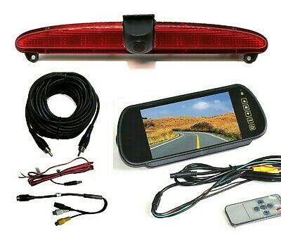 Dolphin Iveco Daily Van Rear View Reverse Park Reversing Camera Kit 2006 - 2014