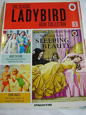 DeAGOSTINI CLASSIC LADYBIRD COLLECTION BOOK SLEEPING BEAUTY ISSUE # 1