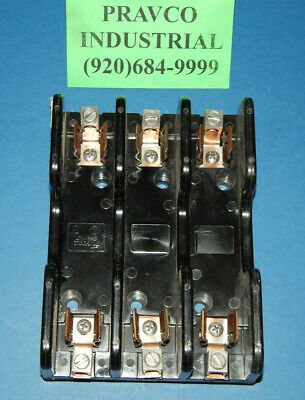 Gould Shawmut Class H/K Fuse Holder 3Pole 60amp 600Volt