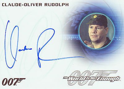 James Bond 2016 Classics Autograph Trading Card A288 Claude-Oliver Rudolph